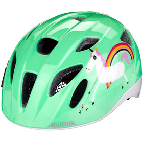 Alpina Ximo Flash Casco Bambino, mint unicorn